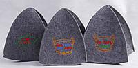 Банные шапочки с вышивкой