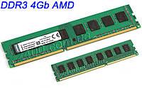 Память DDR3 4Gb (4Гб) 1333Мгц для AM3/AM3+ DDR3-1333, ДДР3 4 Гб 4096MB PC3-10600 KVR1333D3N9/4G (ОЗУ 4 Gb), фото 1