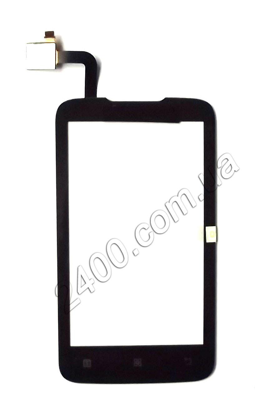 Тачскрин (сенсор) Lenovo А 316 для телефона черный