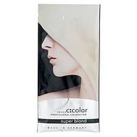 Порционный блонд-порошок для осветления (Белый) - C:EHKO Super Blond 2 х 30ml (Оригинал)