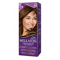 Краска для волос Wellaton 5-4 каштан