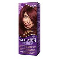 Краска для волос Wellaton 5-66 баклажан