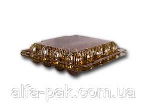 Упаковка для перепелиных яиц коричневая