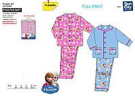 Фланелева пижама для девочки