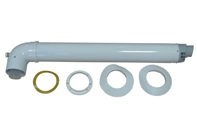 Коаксиальный комплект для конденсационного котла.