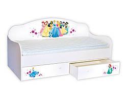Кроватка диванчик Принцессы