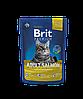 Brit Premium Adult Salmon корм для взрослых кошек с лососем, 1.5 кг