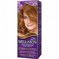 Краска для волос Wellaton 8-74 шоколадная карамель