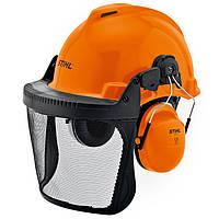 Шлем Stihl Special с защитной сеткой и наушниками (00008842401)