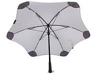 Противоштормовой зонт-трость мужской механический BLUNT (БЛАНТ) Bl-mini-grey