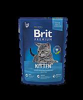 Brit Premium Kitten корм для котят с курицей, 1.5 кг