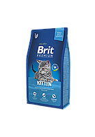 Brit Premium Kitten корм для котят с курицей, 8 кг