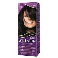 Краска для волос Wellaton 2-0 черный