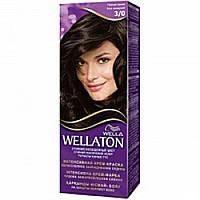 Краска для волос Wellaton 3-0 темный шатен