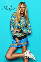"Костюм ""Chanel цепи юбка"" 01381"