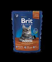 Brit Premium Cat Indoor корм для кошек, живущих в помещении, 1.5 кг
