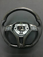 Карбоновый руль Mercedes AMG w212, w204, w218, w231, w172