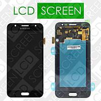 Модуль для Samsung J5 J500H J500H/DS, J500F/DS, J500M/DS, черный, дисплей + тачскрин