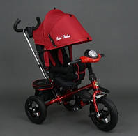 Best Trike Детский поворотный трехколесный велосипед красный
