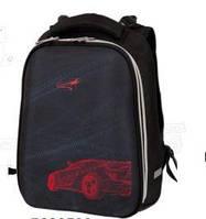 Ранец ортопедический Zibi Red Auto ZB17.0131RA