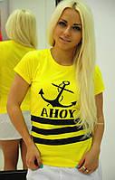 Костюм  с шортиками двойка жёлтый
