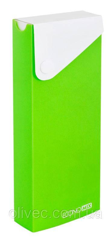 Пенал пластиковый Economix на кнопке 19,8х7,8х3,0 см