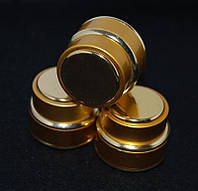 Баночка золотая круглая 15 гр.