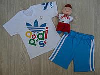 Футболка с шортам детские летние Adidas р.92-122