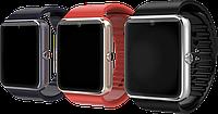 "Умные часы GT08, Fiteness-tracker, Шагомер, Умный сон, SIM-карта, камера 1.5 Mpx, Bluetooth 3.0, дисплей 1.54"""