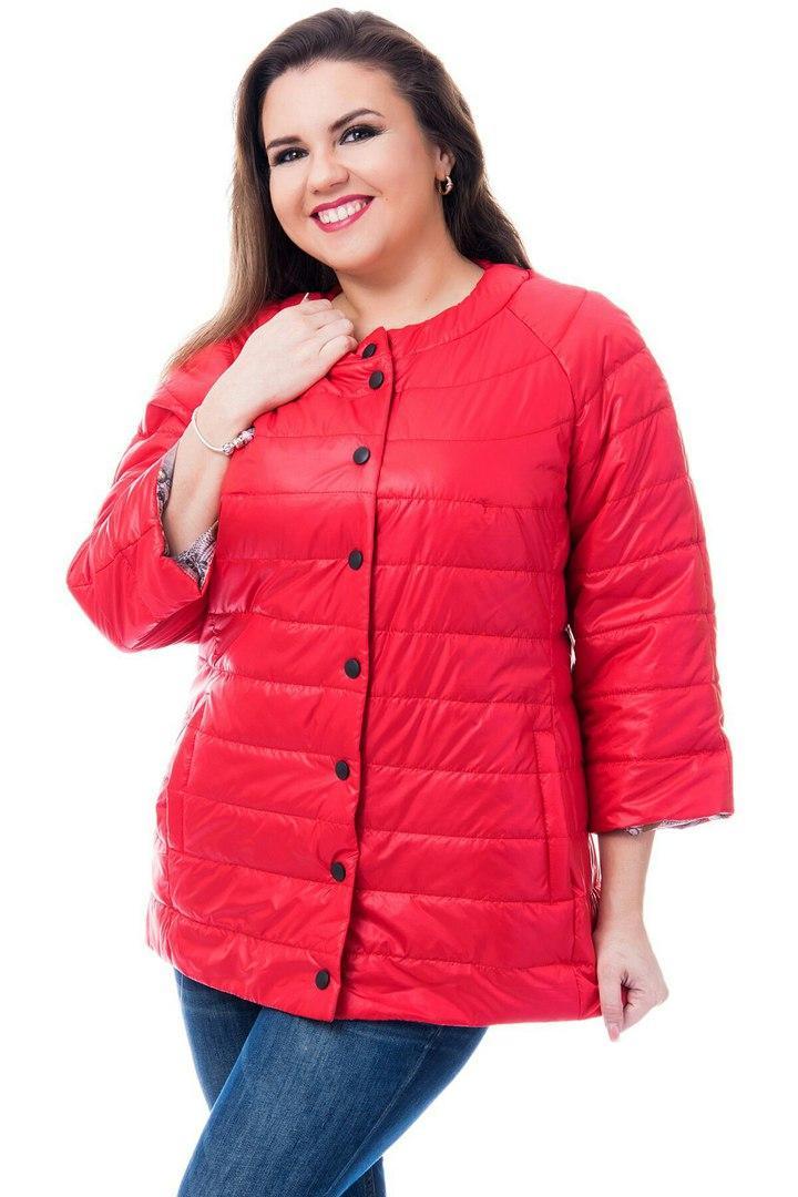 Куртка женская артикул 203 красный