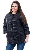 Куртка женская артикул 202 черный 56