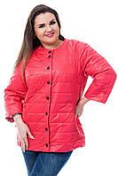 Куртка женская артикул 202 коралловый