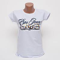 Женская футболка с принтом London цвет белый p.44-46 Gusse 1189 SS29-2