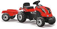 Педальний Трактор з причепом XL Smoby, фото 1