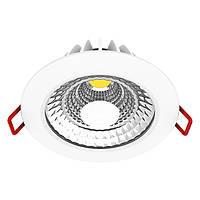 Светильник встраиваемый точечный светодиодный MAXUS LED 4W яркий свет 1-SDL-002