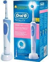 Зубная щетка BRAUN Oral-B Vitality Sensitive Clean D12.513