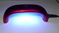 УФ LED лампа 9 вт компактная для маникюра (гель-лака), фото 1