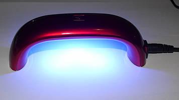 УФ LED лампа 9 вт компактная для маникюра (гель-лака)