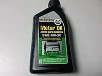 Оригинальное масло Toyota Synthetic Motor Oil 0W-20