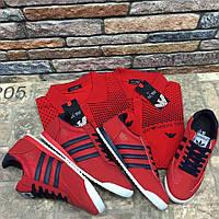 Кроссовки Adidas красные