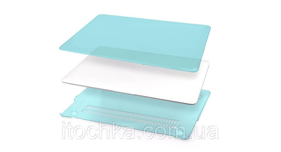 Пластиковый чехол для MacBook Pro 13.3/2016 Blue