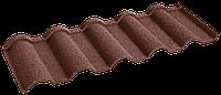 Металочерепица композитная 30 Verona Brown (0,45) 1 тайл Queen Tile