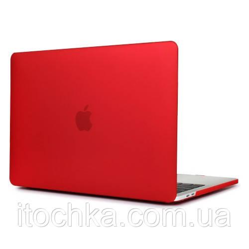 Пластиковый чехол для MacBook Pro 15/2016 Red