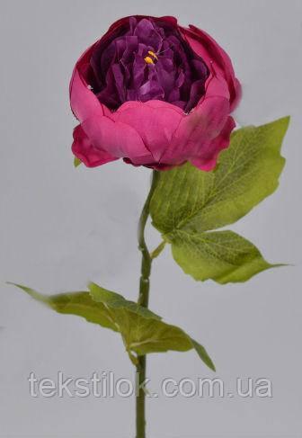 Півонія одинарний фіолетовий 50 см штучні Квіти
