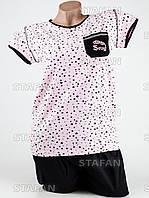 Женский комплект футболка+капри Турция. MORAL 01-17. Размер 48-50.