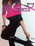 Колготы коттоновые с узором GATTA
