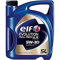 Моторное масло Elf EVOLUTION FULLTECH LLX 5w30 5л.