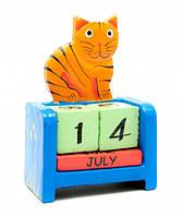 Вечный Календарь Рыжий Кот