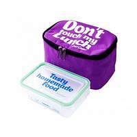 Термо Сумка Lunch Bag mini Фиолетовая
