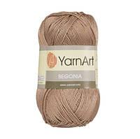 Пряжа YarnArt Begonia коричневый